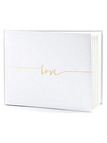 Off White Polaroid Wedding Guest Book