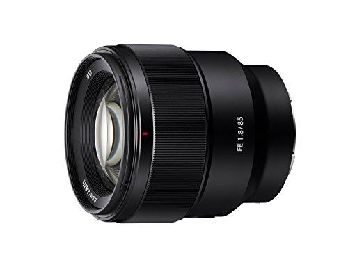 Sony SEL85F18 85mm F/1.8-22 Medium-Telephoto Prime Camera Lens