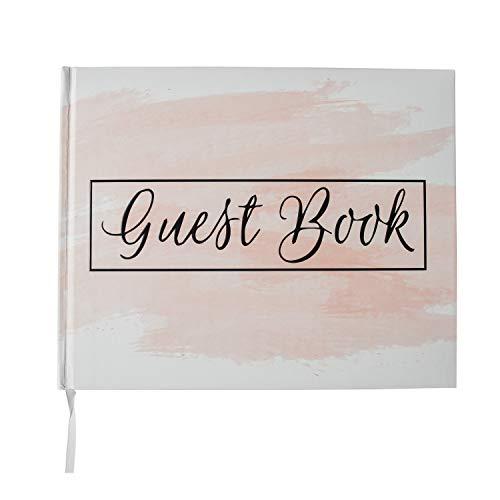 White Wedding Guest Book - Hardcover Polaroid Album