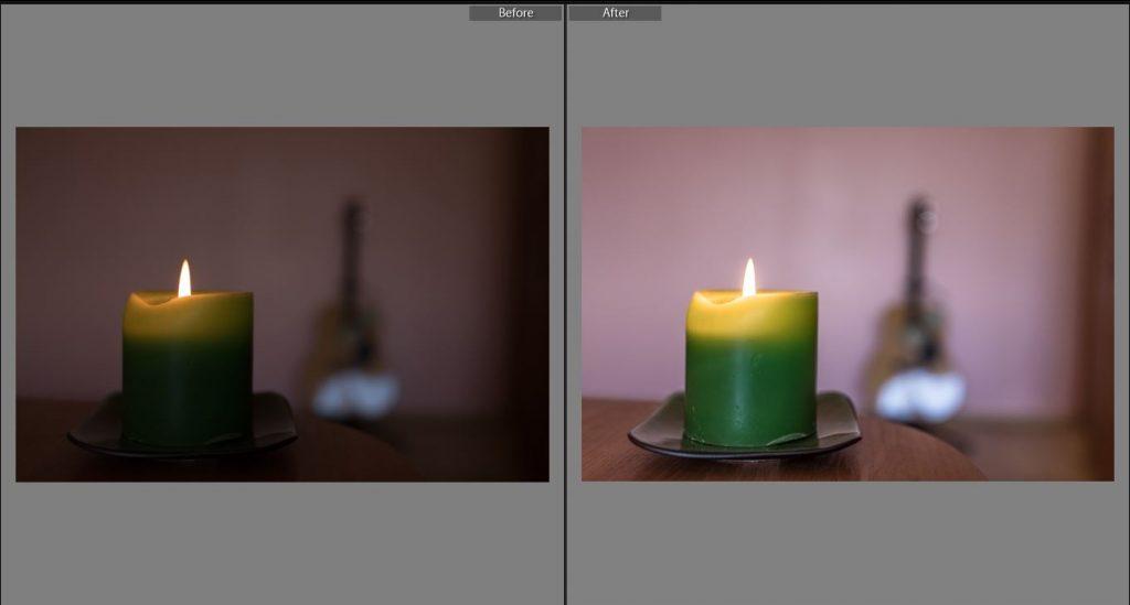 recover dark photo