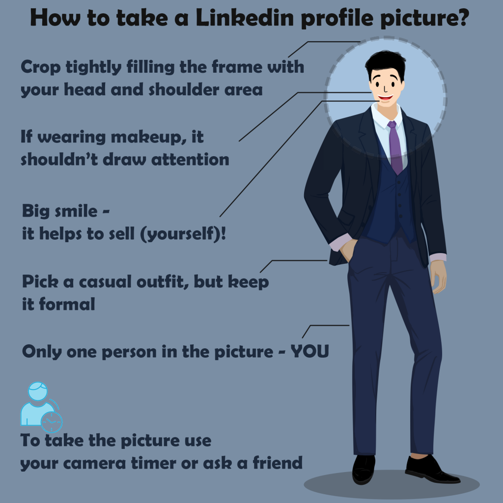 tips on how to take a linkedin profile picture at home